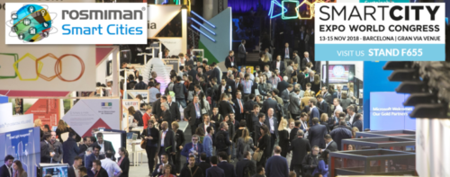 ROSMIMAN takes part in SMART CITY EXPO WORLD CONGRESS 2018 presenting the latest technologies for Smart Cities