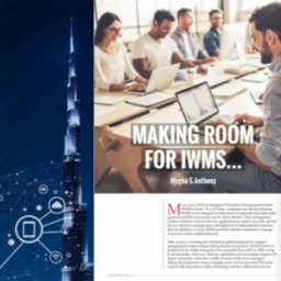 """Making room for IWMS"" – FM TODAY Magazine – Oct/Nov/Dec 2018"