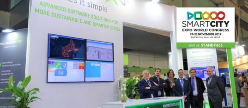 ROSMIMAN takes part once again in the SMART CITY EXPO WORLD CONGRESS with its advanced technology solutions for Smart Cities